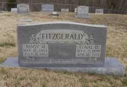 Emaline Pansy <I>Scroggins</I> Fitzgerald
