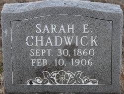Sarah Ellen <I>Cotnam</I> Chadwick