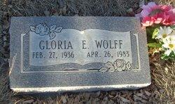 Gloria E Wolff