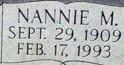 Nannie Maybell <I>Simcox</I> Dowell