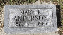 Mary Kate <I>Settlemoir</I> Anderson