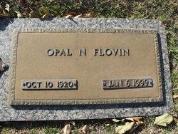Opal Nannie <I>Tillery</I> Flovin