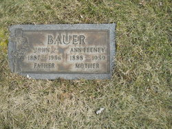 Ann <I>Feeney</I> Bauer