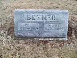 Mary <I>Jakel</I> Benner