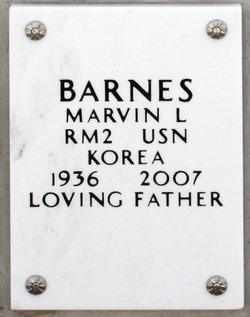 Marvin L Barnes
