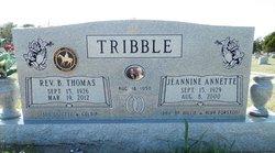 Jeannine Annette <I>Forston</I> Tribble