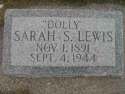 """Sarah Ann """"Dolly"""" <I>Smith</I> Lewis"""