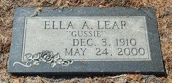 """Ella Augusta """"Gussie"""" <I>Naylor</I> Lear"""