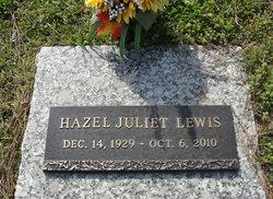 Hazel Juliet <I>Henderson</I> Lewis