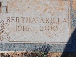 Bertha Arilla <I>Sheridan</I> Welch