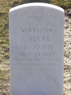 Marion Gaulke