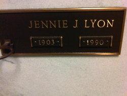 Jennie McNeil <I>Jones</I> Lyon