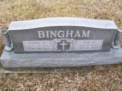 """Leander D """"Lee"""" Bingham"""