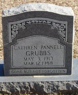 Catherine Elizabeth <I>Pannell</I> Grubbs