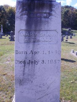 Mary <I>Shaw</I> Attwood