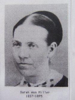 Sarah Ann <I>Miller</I> Miller