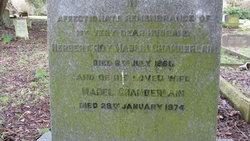 """Capt Herbert Roy Maslen """"Roy"""" Chamberlain"""