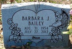 Barbara Jean <I>Daniels</I> Bailey