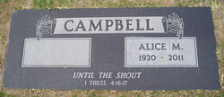 Alice Marie <I>Willadsen</I> Campbell