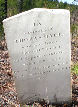 Rev Thomas Hall