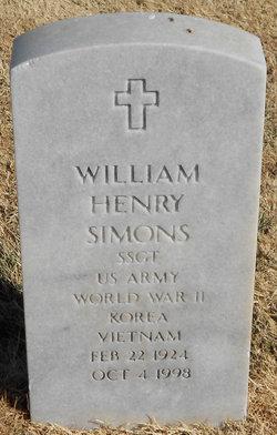 SSGT William Henry Simons
