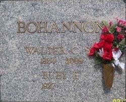 Walter Chatman Bohannon, Sr