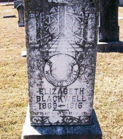 Mary Ann Elizabeth <I>Frye</I> Blackwell