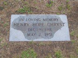Henry Hope Chryst