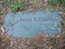 Agnes Elizabeth <I>McMurry</I> Chappell