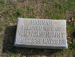 Hannah S <I>McClussy</I> Whisenhunt
