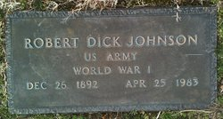 Robert Dick Johnson