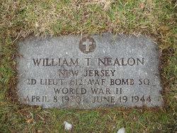 Lieut William Thomas Nealon