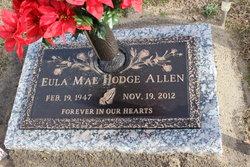 Eula Mae <I>Hodge</I> Allen