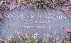 Woodburn H McCahon, Jr
