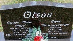 "Jorgen Mikal ""Mike"" Olson"