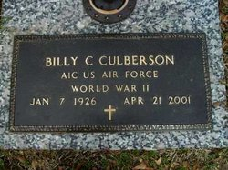 Billy Charles Culberson