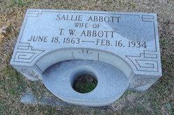 Sallie Abbott