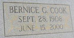 Bernice <I>George</I> Cook
