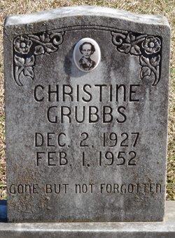 Edith Christine Grubbs