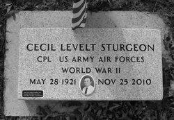 Cecil Levelt Sturgeon