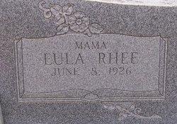 Eula Rhee Taylor