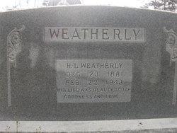 H. L. Weatherly