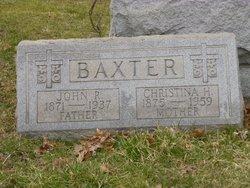 """Christina H """"Tina"""" <I>Roth</I> Baxter"""