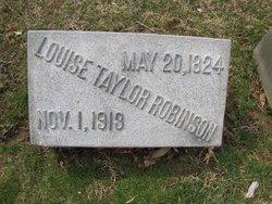 Louise <I>Taylor</I> Robinson
