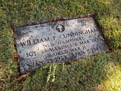 Sgt William Francis Cunningham