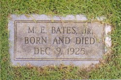 Moses Echols Bates, Jr