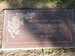 Edith Sophia <I>Sthole</I> Wilson
