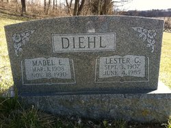 Mabel E. <I>Fenstermaker</I> Diehl