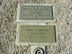 LTJG William Earl Ledford