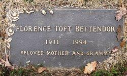Florence <I>Toft</I> Bettendorf